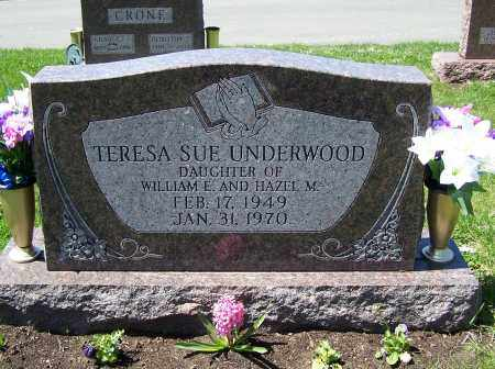 UNDERWOOD, TERESA SUE - Fayette County, Ohio | TERESA SUE UNDERWOOD - Ohio Gravestone Photos
