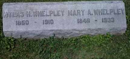 WHELPLEY, MARY - Fayette County, Ohio | MARY WHELPLEY - Ohio Gravestone Photos