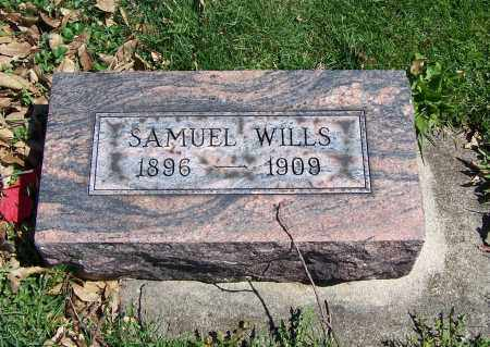 WILLS, SAMUEL - Fayette County, Ohio | SAMUEL WILLS - Ohio Gravestone Photos