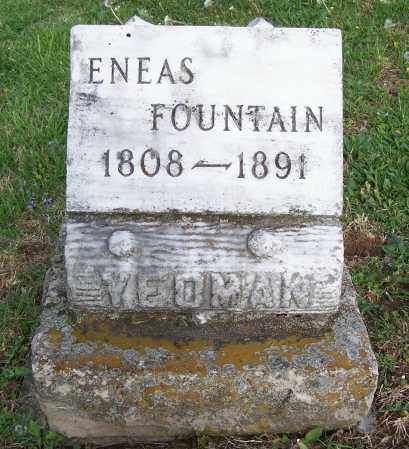 YEOMAN, ENEAS FOUNTAIN - Fayette County, Ohio | ENEAS FOUNTAIN YEOMAN - Ohio Gravestone Photos