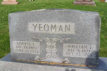 YEOMAN, LOUISE E. - Fayette County, Ohio | LOUISE E. YEOMAN - Ohio Gravestone Photos