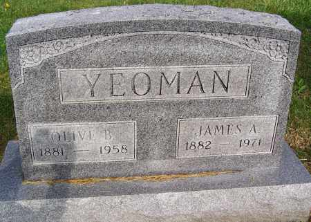 YEOMAN, JAMES A. - Fayette County, Ohio | JAMES A. YEOMAN - Ohio Gravestone Photos