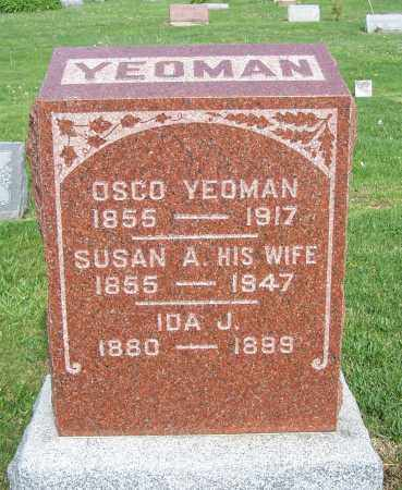 YEOMAN, IDA J. - Fayette County, Ohio | IDA J. YEOMAN - Ohio Gravestone Photos