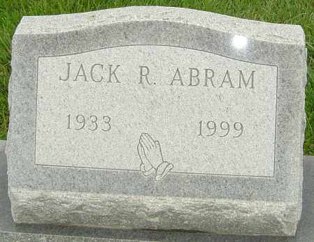 ABRAM, JACK R - Franklin County, Ohio | JACK R ABRAM - Ohio Gravestone Photos