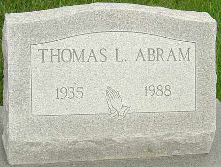 ABRAM, THOMAS - Franklin County, Ohio | THOMAS ABRAM - Ohio Gravestone Photos