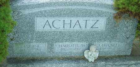 ACHATZ, CLIFFORD - Franklin County, Ohio | CLIFFORD ACHATZ - Ohio Gravestone Photos