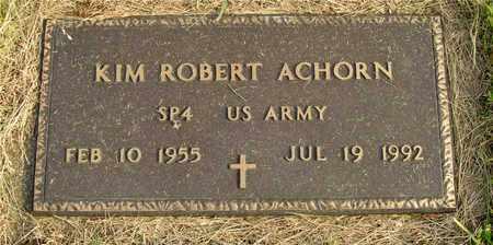 ACHORN, KIM ROBERT - Franklin County, Ohio | KIM ROBERT ACHORN - Ohio Gravestone Photos