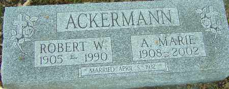 ACKERMANN, ANNA MARIE - Franklin County, Ohio | ANNA MARIE ACKERMANN - Ohio Gravestone Photos