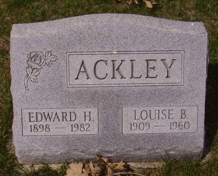 ACKEY, LOUISE - Franklin County, Ohio | LOUISE ACKEY - Ohio Gravestone Photos
