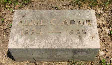 ADAIR, ALICE C. - Franklin County, Ohio | ALICE C. ADAIR - Ohio Gravestone Photos