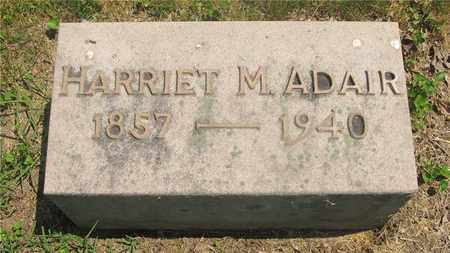 ADAIR, HARRIET M. - Franklin County, Ohio | HARRIET M. ADAIR - Ohio Gravestone Photos