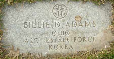 ADAMS, BILLIE - Franklin County, Ohio | BILLIE ADAMS - Ohio Gravestone Photos