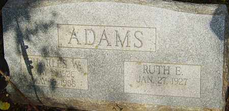 ADAMS, CHARLES - Franklin County, Ohio | CHARLES ADAMS - Ohio Gravestone Photos