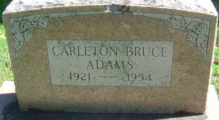 ADAMS, CARLETON BRUCE - Franklin County, Ohio | CARLETON BRUCE ADAMS - Ohio Gravestone Photos