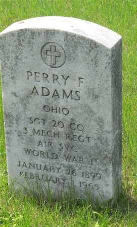 ADAMS, PERRY F. - Franklin County, Ohio | PERRY F. ADAMS - Ohio Gravestone Photos