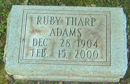 THARP ADAMS, RUBY - Franklin County, Ohio | RUBY THARP ADAMS - Ohio Gravestone Photos