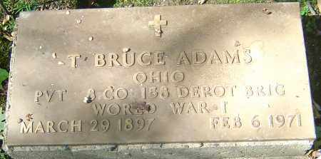 ADAMS, T BRUCE - Franklin County, Ohio | T BRUCE ADAMS - Ohio Gravestone Photos