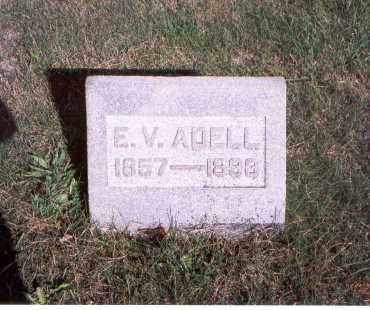 ADELL, E. V. - Franklin County, Ohio | E. V. ADELL - Ohio Gravestone Photos