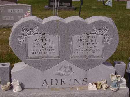 ADKINS, MOLLIE L. - Franklin County, Ohio | MOLLIE L. ADKINS - Ohio Gravestone Photos
