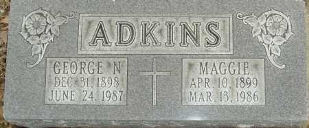 ADKINS, GEORGE - Franklin County, Ohio | GEORGE ADKINS - Ohio Gravestone Photos