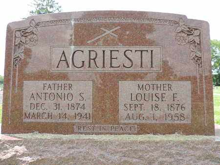 AGRIESTI, ANTONIO S. - Franklin County, Ohio | ANTONIO S. AGRIESTI - Ohio Gravestone Photos
