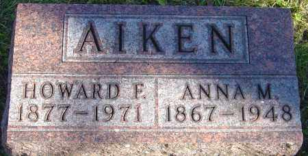 AIKEN, ANNA M - Franklin County, Ohio | ANNA M AIKEN - Ohio Gravestone Photos