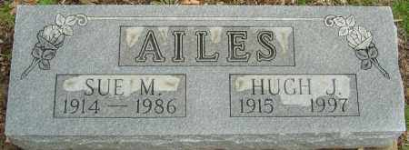 AILES, SUE M - Franklin County, Ohio | SUE M AILES - Ohio Gravestone Photos