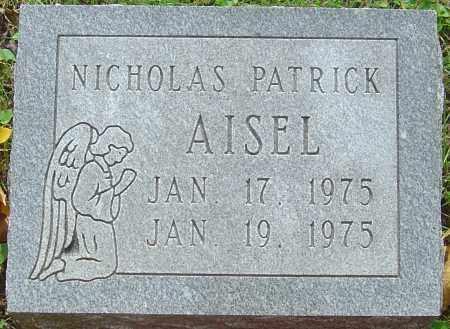 AISEL, NICHOLAS PATRICK - Franklin County, Ohio | NICHOLAS PATRICK AISEL - Ohio Gravestone Photos
