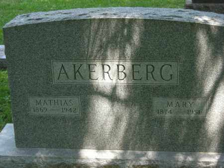 AKERBERG, OLAF MATHIAS - Franklin County, Ohio | OLAF MATHIAS AKERBERG - Ohio Gravestone Photos
