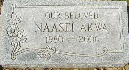 AKWA, NAASEI - Franklin County, Ohio | NAASEI AKWA - Ohio Gravestone Photos