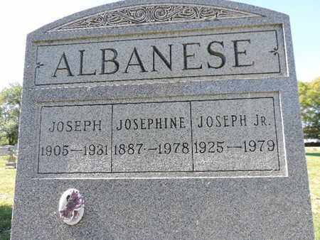 ALBANSES, JOSEPH - Franklin County, Ohio | JOSEPH ALBANSES - Ohio Gravestone Photos