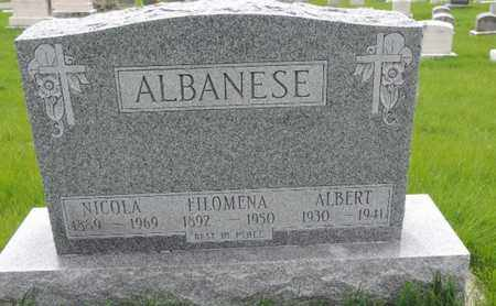 ALBANESE, ALBERT - Franklin County, Ohio | ALBERT ALBANESE - Ohio Gravestone Photos