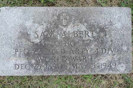 ALBERT, SAM - Franklin County, Ohio | SAM ALBERT - Ohio Gravestone Photos