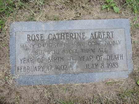 ALBERT, ROSE CATHERINE - Franklin County, Ohio | ROSE CATHERINE ALBERT - Ohio Gravestone Photos