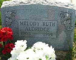 RUTH ALDERIDGE, MELODY - Franklin County, Ohio | MELODY RUTH ALDERIDGE - Ohio Gravestone Photos