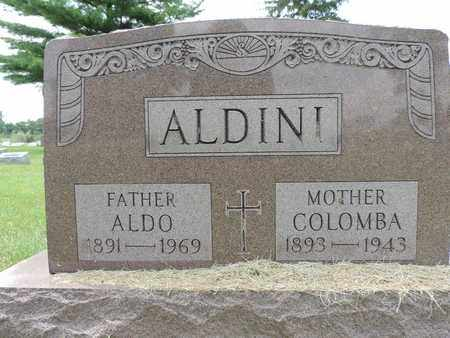 ALDINI, COLOMBA - Franklin County, Ohio | COLOMBA ALDINI - Ohio Gravestone Photos