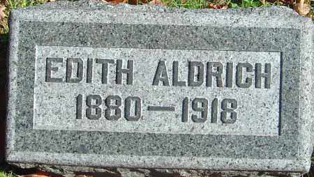 ALDRICH, EDITH - Franklin County, Ohio | EDITH ALDRICH - Ohio Gravestone Photos