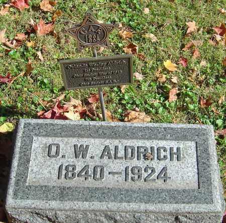 ALDRICH, ORLANDO WESLEY - Franklin County, Ohio | ORLANDO WESLEY ALDRICH - Ohio Gravestone Photos
