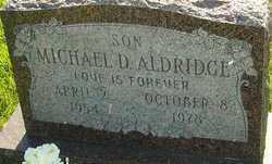 ALDRIDGE, MICHAEL - Franklin County, Ohio | MICHAEL ALDRIDGE - Ohio Gravestone Photos