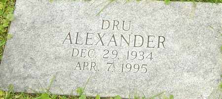 ALEXANDER, DRUCILLA - Franklin County, Ohio | DRUCILLA ALEXANDER - Ohio Gravestone Photos
