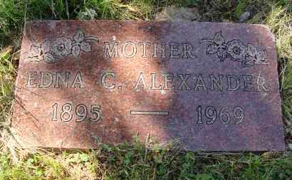 ALEXANDER, EDNA CATHERINE - Franklin County, Ohio | EDNA CATHERINE ALEXANDER - Ohio Gravestone Photos
