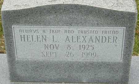 ALEXANDER, HELEN - Franklin County, Ohio | HELEN ALEXANDER - Ohio Gravestone Photos