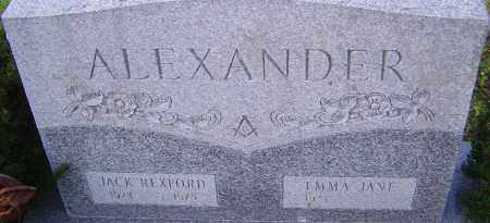 ALEXANDER, JACK - Franklin County, Ohio | JACK ALEXANDER - Ohio Gravestone Photos