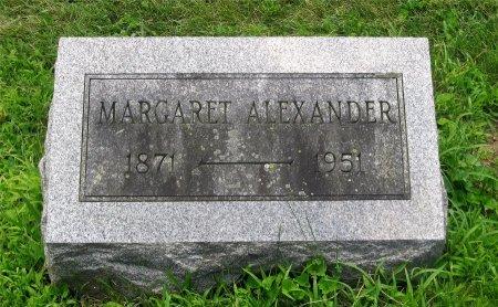 ALEXANDER, MARGARET - Franklin County, Ohio   MARGARET ALEXANDER - Ohio Gravestone Photos