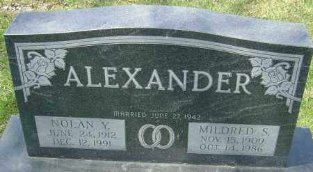 ALEXANDER, MILDRED - Franklin County, Ohio | MILDRED ALEXANDER - Ohio Gravestone Photos