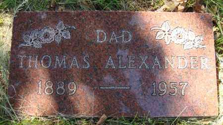 ALEXANDER, THOMAS - Franklin County, Ohio | THOMAS ALEXANDER - Ohio Gravestone Photos