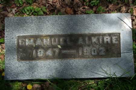 ALKIRE, EMANUEL - Franklin County, Ohio | EMANUEL ALKIRE - Ohio Gravestone Photos
