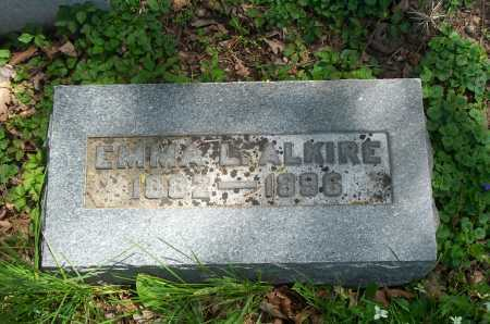ALKIRE, EMMA L. - Franklin County, Ohio | EMMA L. ALKIRE - Ohio Gravestone Photos