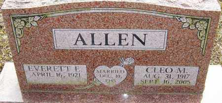 ALLEN, CLEO M - Franklin County, Ohio | CLEO M ALLEN - Ohio Gravestone Photos