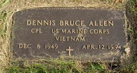 ALLEN, DENNIS BRUCE - Franklin County, Ohio | DENNIS BRUCE ALLEN - Ohio Gravestone Photos